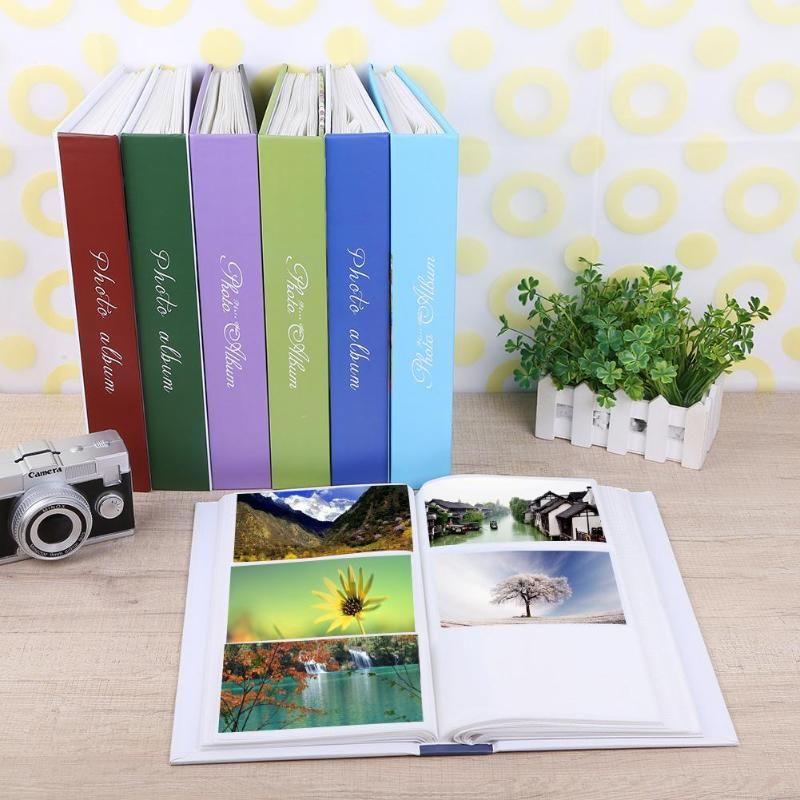 300 blätter Interleaf Typ Familie Fotoalbum Bild Sammelalbum Speicher Buch