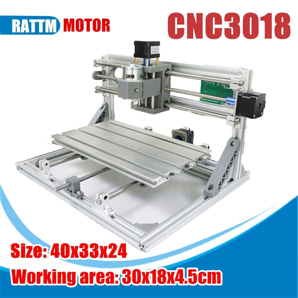 3018 3 achse Mini DIY CNC Router Standard Spindel Motor Holz Gravur Maschine Fräsen Stecher Mini CNC Router Laser Maschine