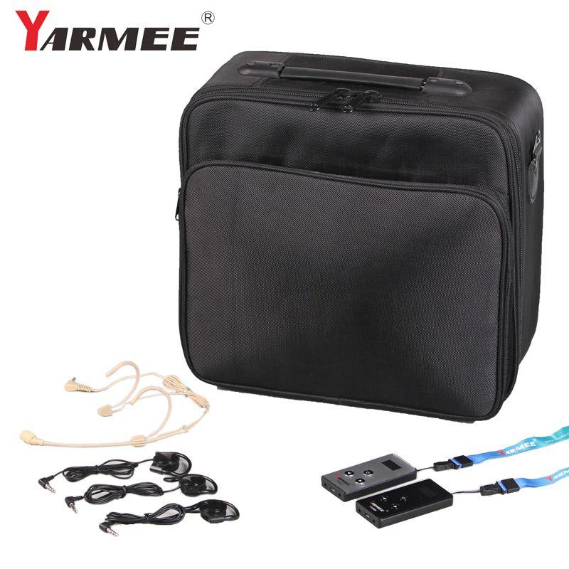 (4T + 60R) Wireless Audio Tour Guide System YARMEE YT200 für Kirche, Museum, Konferenz