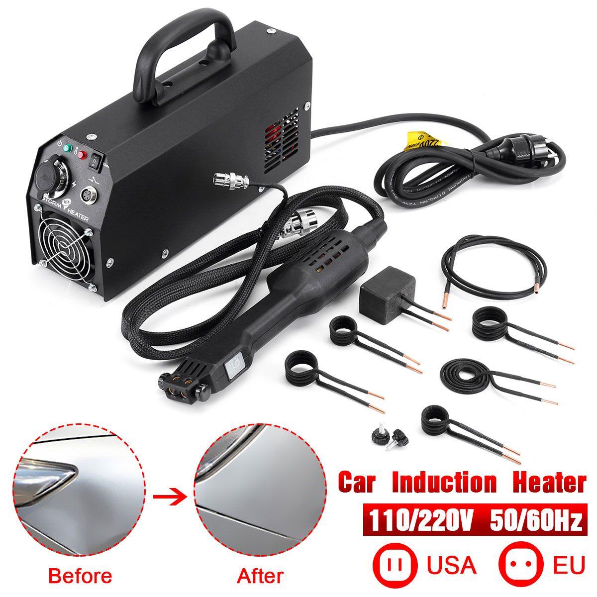 110/220 V 2000W Car Induction Heater Repair Machines Tool Paintless Removing for Car Repair Removal of Dents Car Body Repair