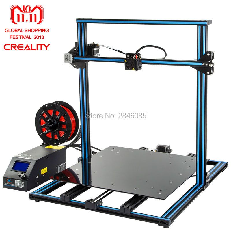 3D Printer Creality 3D CR-10S CR-10 Optional ,Dua Z Rod Filament Sensor/Detect Resume Power Off Optional 3D Printer DIY Kit