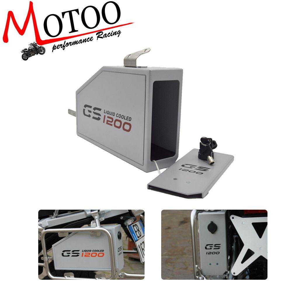 Tool Box Dekorative Liter Box Toolbox Auf Der Linken Seite Halterung Für BMW R1200GS LC ABENTEUER 13-18 R1200GS 14-18
