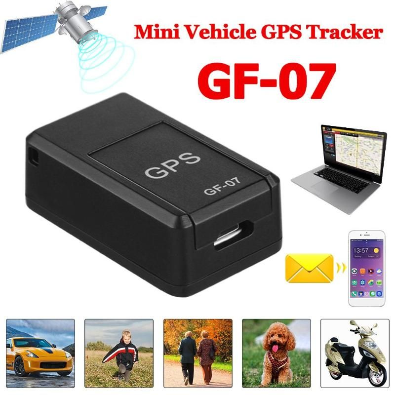 VODOOL Mini GPS Tracker GF07 150mA Vehicle Voice Control Magnetic GSM GPRS Real Time Car Truck Tracking Device GPS Accessories