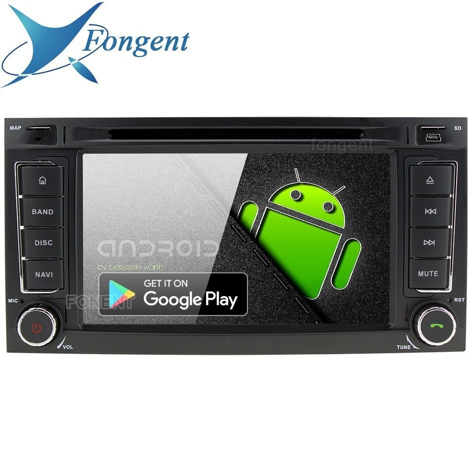Android 9.0 Multimedia Stereo Audio DVD Player für VW Volkswagen Touareg T5 Multivan Transporter Auto GPS Navi Radio PX6 RK3399