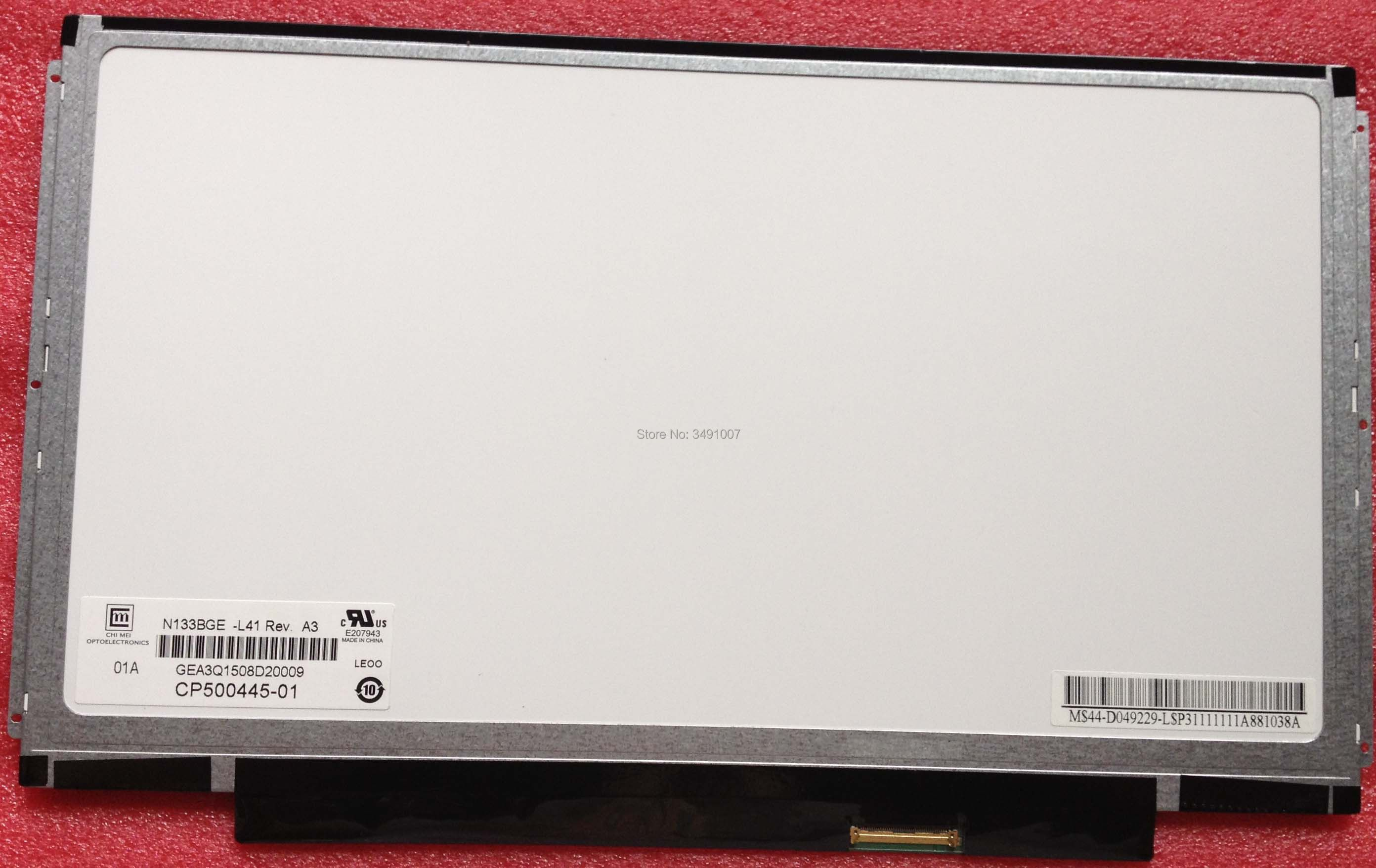 LALAWIN N133BGE-L41 B133XW03 V.4 V4 B133XW03 V.5 B133XW01 V.0 N133B6-L04 Laptop LCD screen 1366*768 LVDS 40 pins