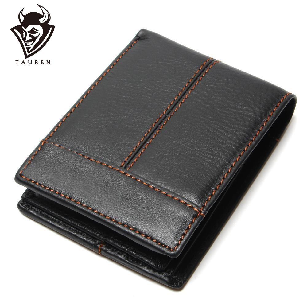 Mode et Vintage portefeuille pour homme en gros chine 100% en cuir véritable hommes portefeuilles hommes peau de vache
