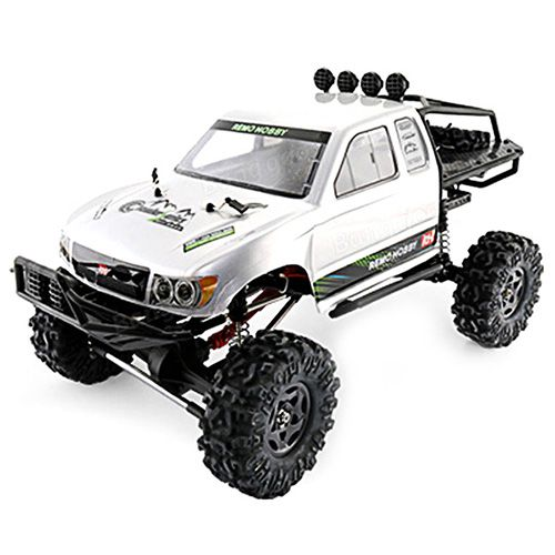 Remo Hobby 1093-ST 1/10 2.4G 4WD Brushed RC Car Off-Road Rock Crawler Truck RTR Remote Control Toy
