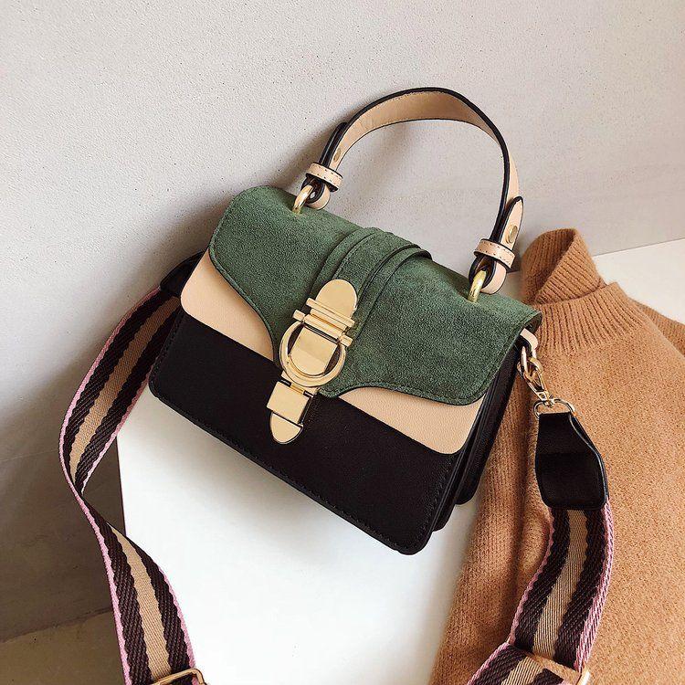 Drop Shipping 2019 New Brand Women Leather Handbags Famous Fashion Shoulder Bags Female Luxury Designer Crossbody Purses Bolsas