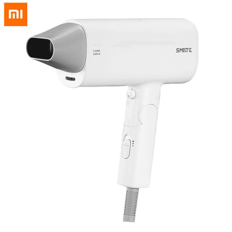 Original Xiaomi Mijia SMATE Hair Dryer Travel Household Hairdryer Hairstyling Tools Blow Dryer Hot and Cold 220V 1600W Blower