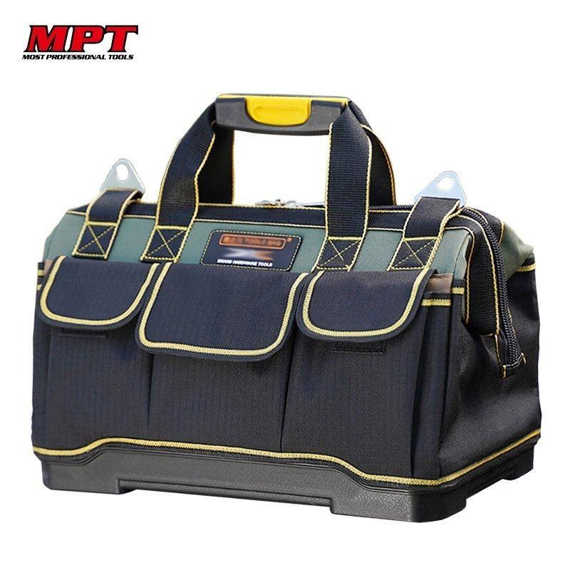 Sac à outils électricien outils menuiserie matériel réparation Portable rangement organisateurs boîte clé de travail boîte à outils Kitbag grande boîte à outils