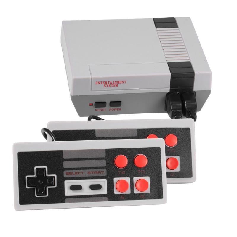 Intégré 500/620 jeux Mini TV Console de jeu 8 bits rétro classique lecteur de jeu de poche AV sortie Console de jeu vidéo jouets cadeaux