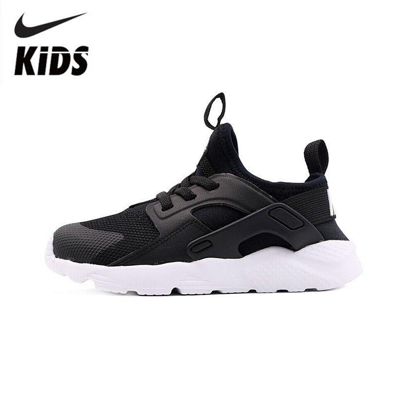 Nike Huarache Run Ultra 2019 Original Kinder Laufschuhe Atmungs Licht Sport Kinder Schuhe #859594-020