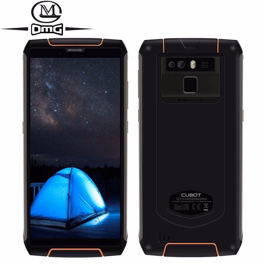 Cubot King Kong 3 IP68 Wasserdicht stoßfest 4G Smartphone Android 8.1 4 GB + 64 GB Octa Core 5,5'' 6000 mAh 16MP handy