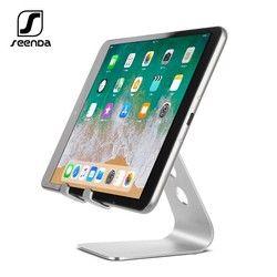 SeenDa Universal Aluminium Stand Schreibtisch Halter Für Xiaomi Handy Halter Für iPhone Metall Tabletten Stehen Für ipad Schwarz Freitag
