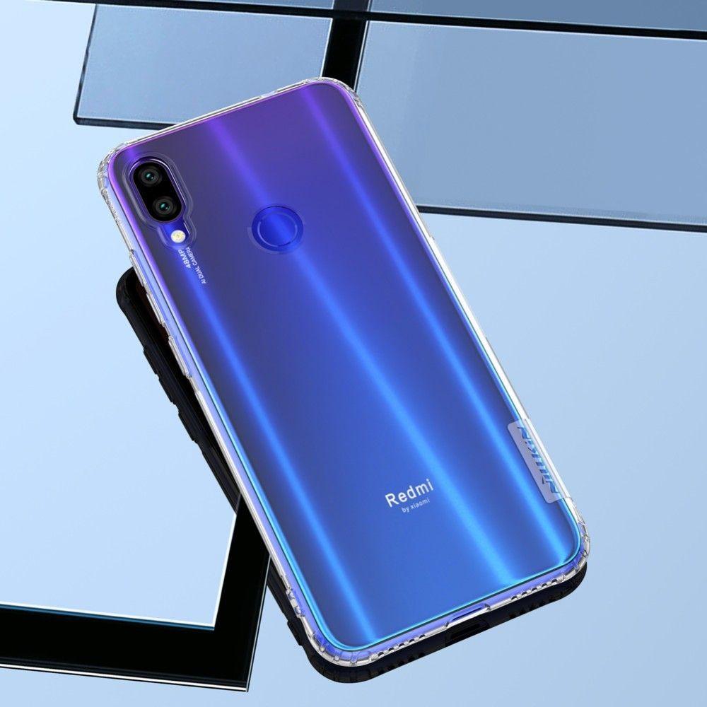 TPU Case for Xiaomi Redmi Note 7 NILLKIN Nature Transparent Silicone Soft Back Cover for Xiaomi Redmi Note 7 Pro Case