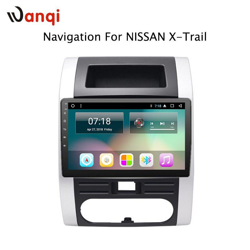 10.1inch Android 8.1 Car GPS Navigation For Nissan X-Trail MX6 2008-2012 Support Stereo Audio Radio Video Bluetooth