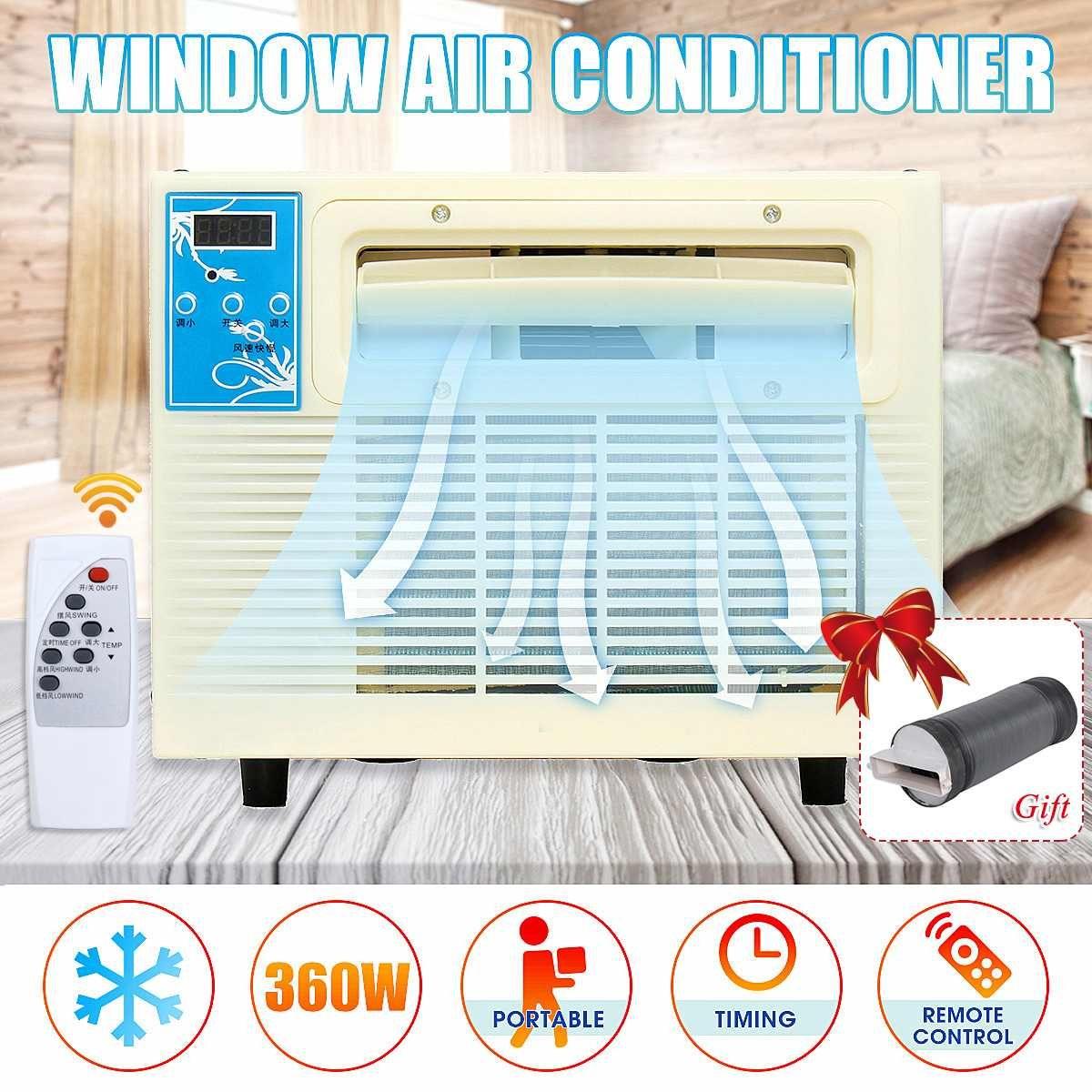 220 V 900 W IPX4 Mini Klimaanlage Desktops Fenster Klimaanlage Haushalts Luftkühler Klimaanlage Mit Fernbedienung
