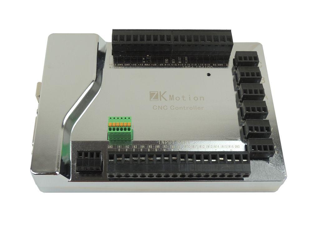 Hohe qualität mach3 USB CNC 4 Achsen Schrittmotor controller karte Glatte Bewegung USB Breakout board 24 V 1000 KHz