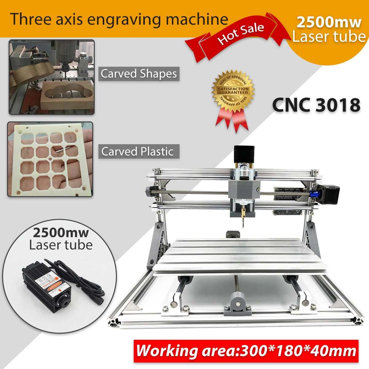 CNC DIY 3018 Holz Router KIt 3 Achse pcb Fräsmaschine Gravur Maschine 2500 mw