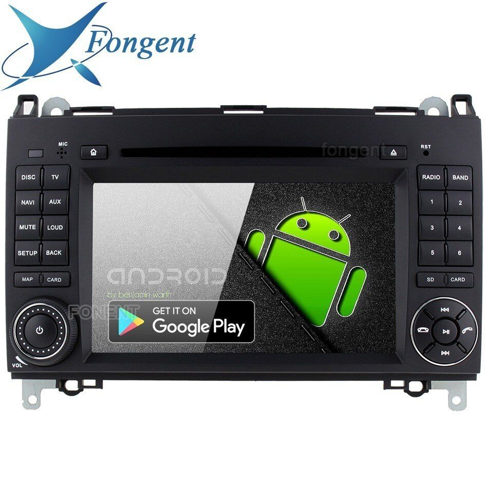 Android 9.0 für Mercedes Benz B200 W169 W245 W906 Sprinter Viano Vito Auto GPS Radio Stereo DVD Player px6 8 Core RDS IPS RK3399