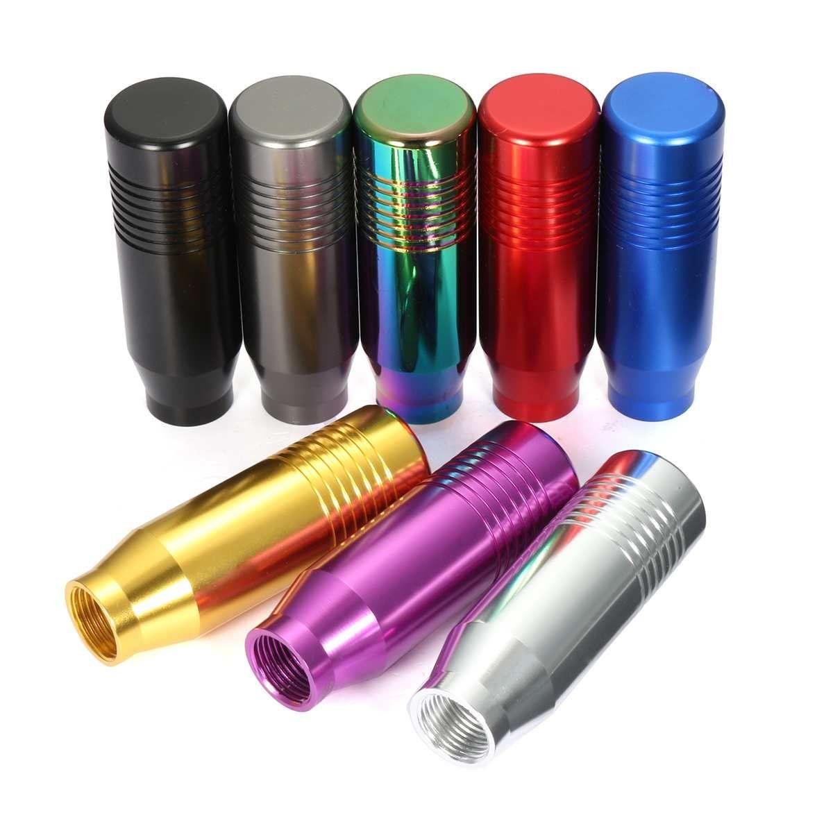 8 farbe Universal Auto Aluminium Manuelle Schaltknauf Stick Manuelle Übertragung Gearstick Hebel Shifter Knob
