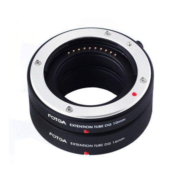 FOTGA Auto Focus AF Macro rallonge Tube DG Set 10mm 16mm adaptateur anneau pour Sony e-mount NEX7