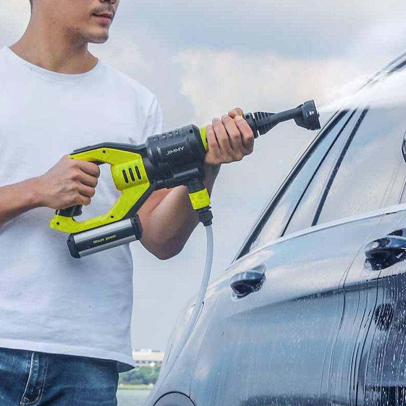 Jimmy JW31 Auto Hochdruck Power Wasser Pistole Druck Washer Cordless Jet Garten Auto Washer 5 Modi Einstellbar Schlauch 6 M Länge