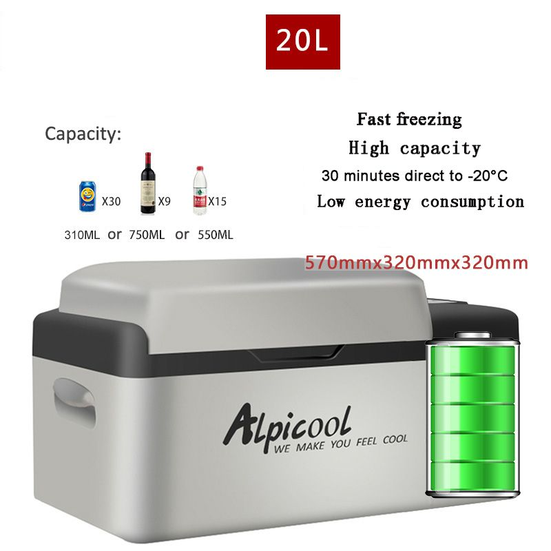 20L Kühlschränke APP Control Lebensdauer Mini Auto Kühlschrank-20 Grad 12 V Tragbare Kompressor Multi-Funktion Hause Kühler gefrierschrank