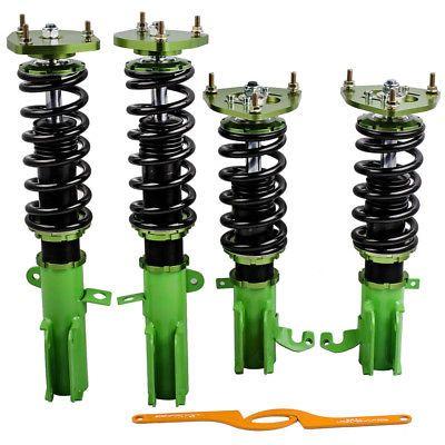 Für Toyota Corolla 88-99 E90 E100 Adj Sturz Suspension Gewindefahrwerk Schocks Kits Absorber Streben Frühling