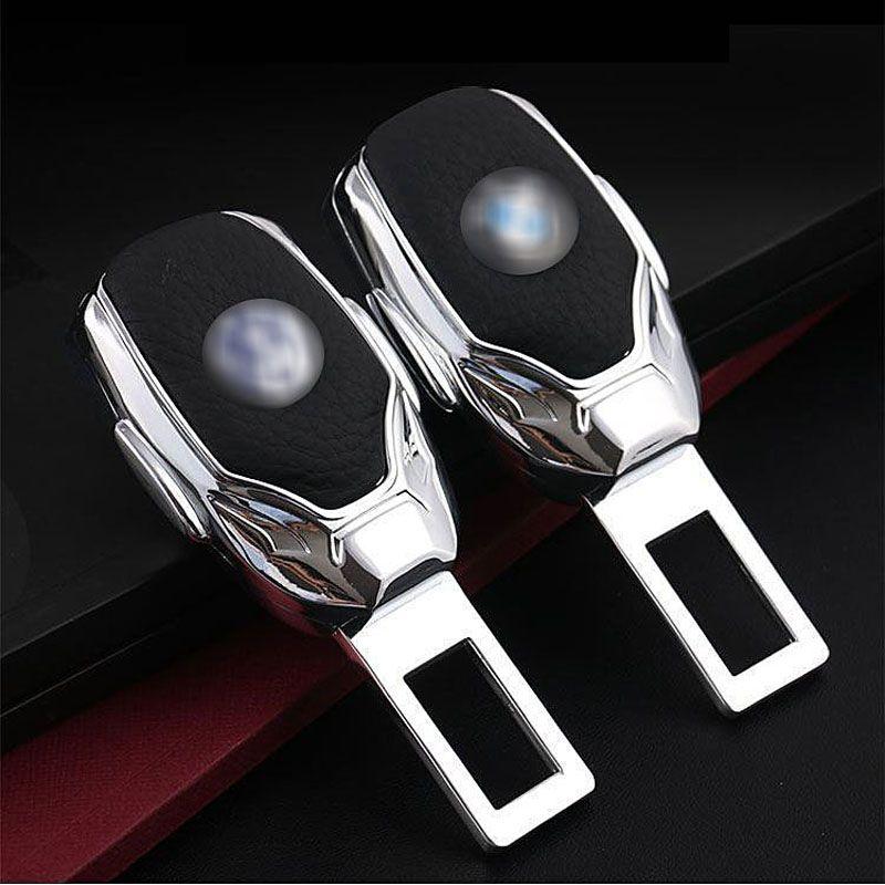 1pcs Top Quality Zinc Alloy Car Seat Belt Clip Extender Safety Belts Plug For Benz Land Rover BMW Audi VW Ford Honda Chevrolet