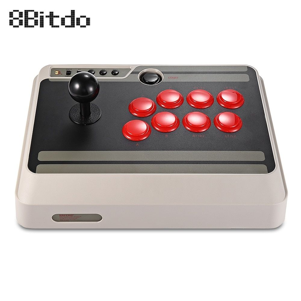 8Bitdo NES30 Customizable Bluetooth Arcade Stick Gamepad Usb PS4 Controller with Turbo for Nintendo Switch PC Mac Android