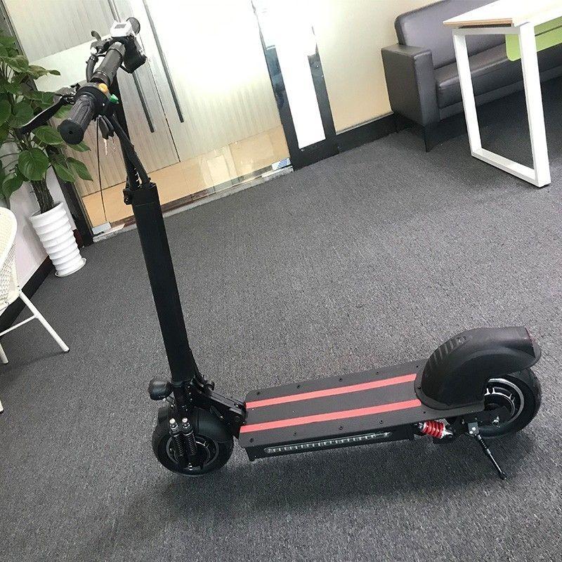 10-zoll Offroad Elektro-roller Erwachsene 48 V 1200 W leistungsstarke neue Faltbare Elektrische Fahrrad roller