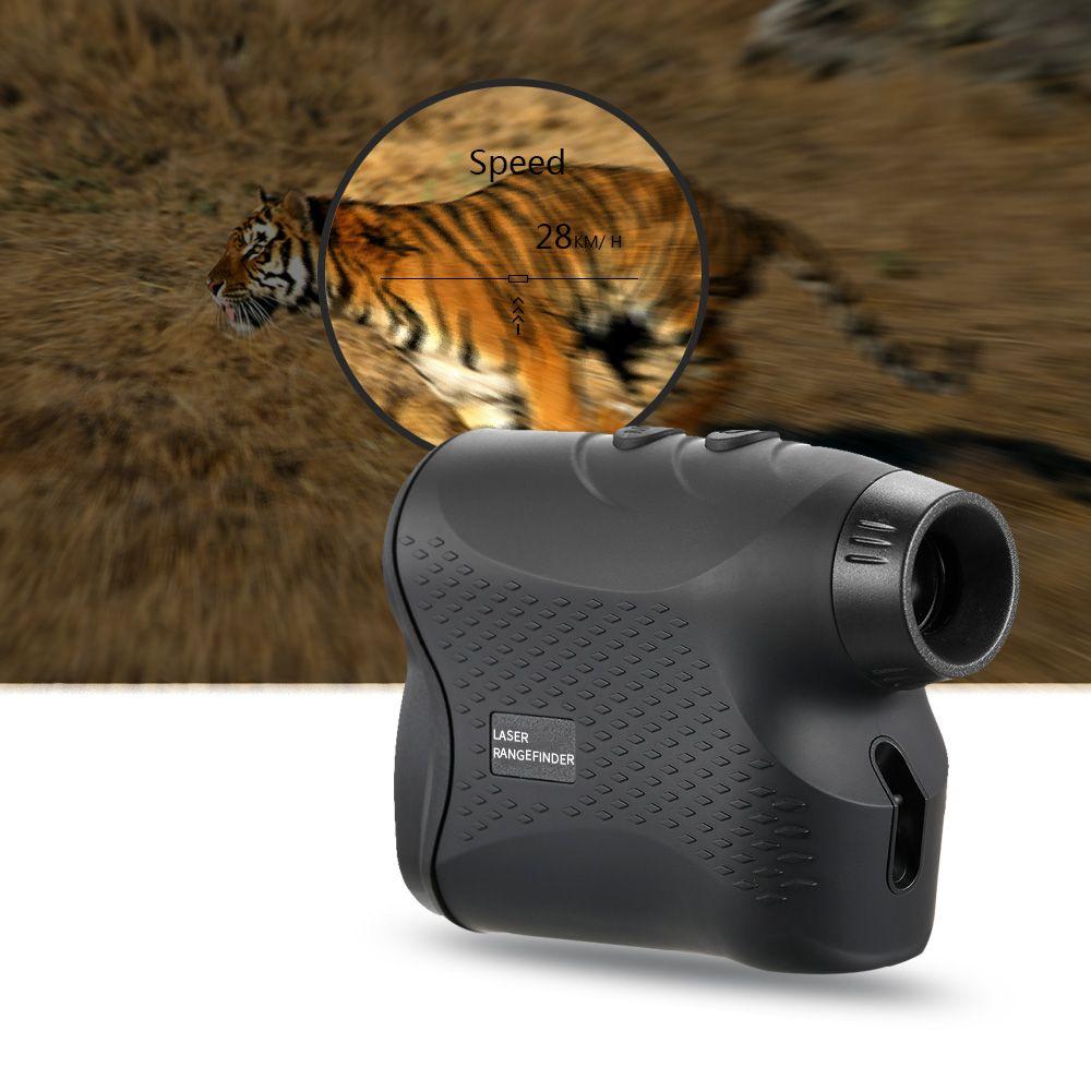 Professionelle 600 M/900 M Monokulare Teleskop Laser-entfernungsmesser für Golf Jagd Bereich Finder Messen Abstand Geschwindigkeit Meter