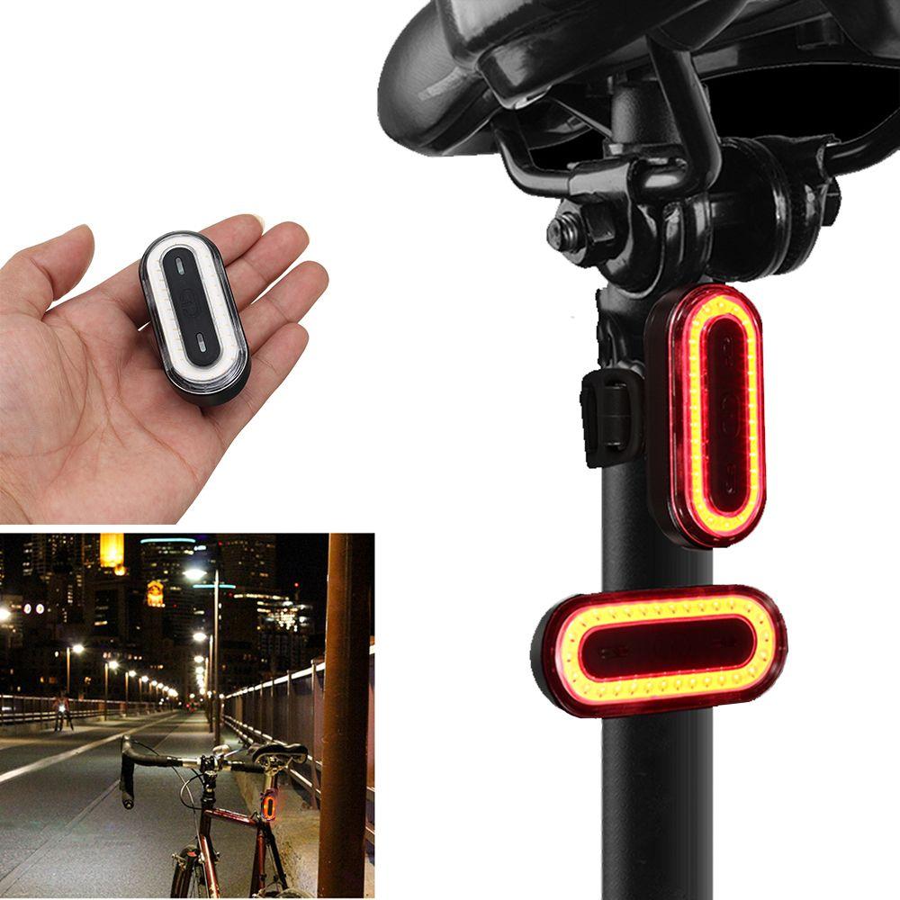Survêtement XANES STL03 100LM IPX8 mémoire vélo feu arrière 6 Modes avertissement LED USB charge 360 Rotation vélo lumière accessoire