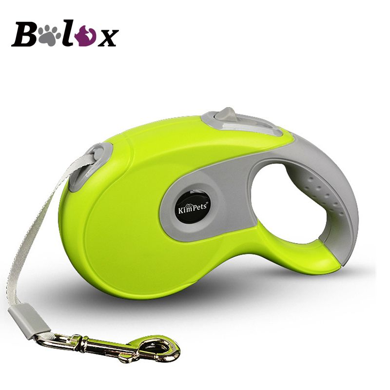 Durable Dog Leash Automatic Retractable Nylon Dog Leash Extending Puppy Walking Running Leads for Small Medium Dogs