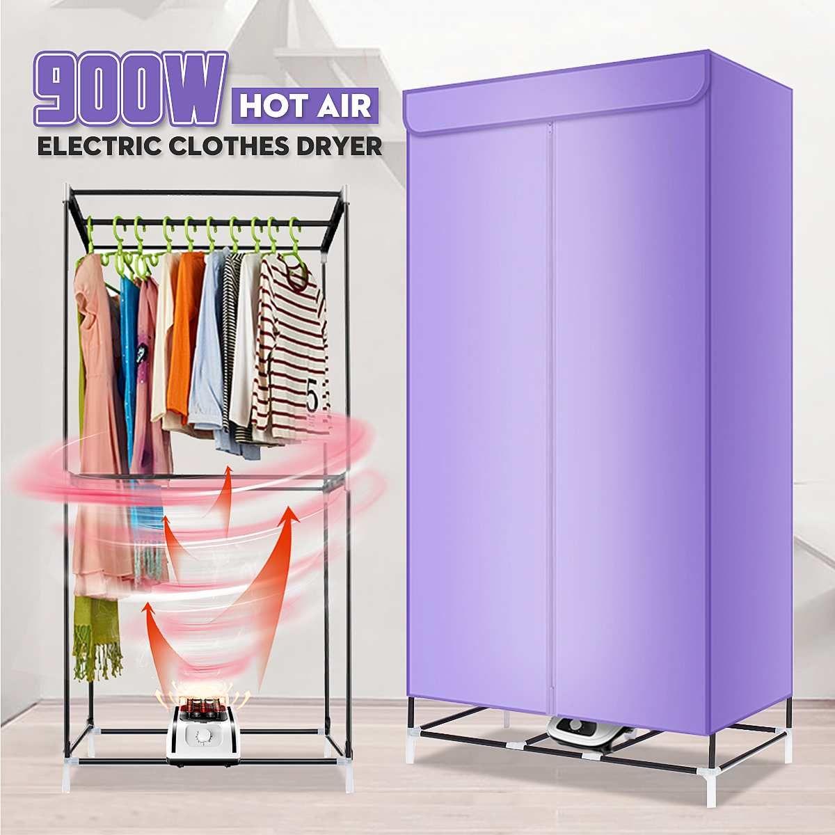 900 W 220 V Elektrische Tuch Trockner Haushalt Tragbare Baby Tuch Schuhe Stiefel Trockner Power Motor Trocknen Warme wWnd Wäsche kleidungsstück