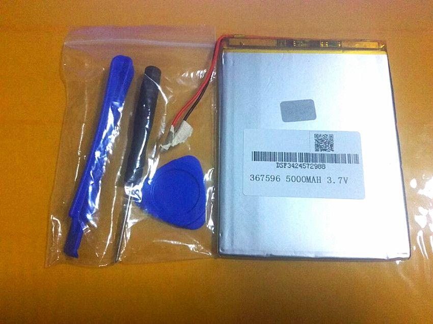 Tablette pc 3.7 V, 5000 mAH (batterie lithium-ion polymère) batterie Li-ion pour tablette pc 7 pouces 8 pouces 9 pouces [367596] livraison gratuite