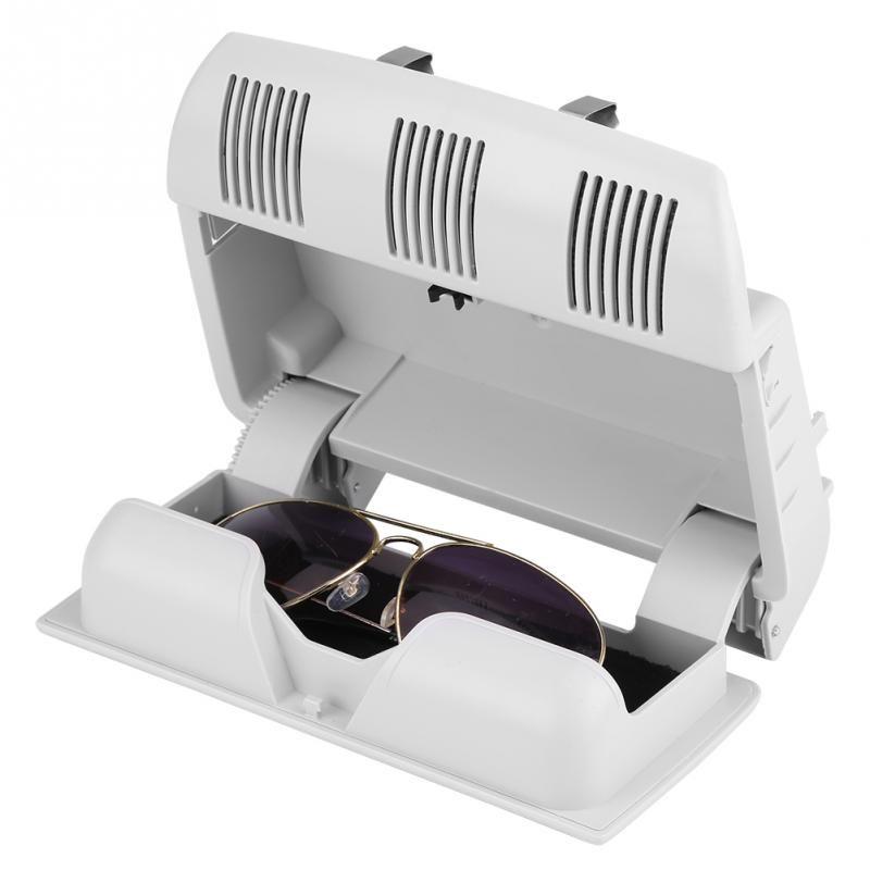 For Skoda Octavia Fabia Roomster Sunglasses Box Sun Glasses Case Container Eyeglasses Holder Gray Beige 1Z0868565E