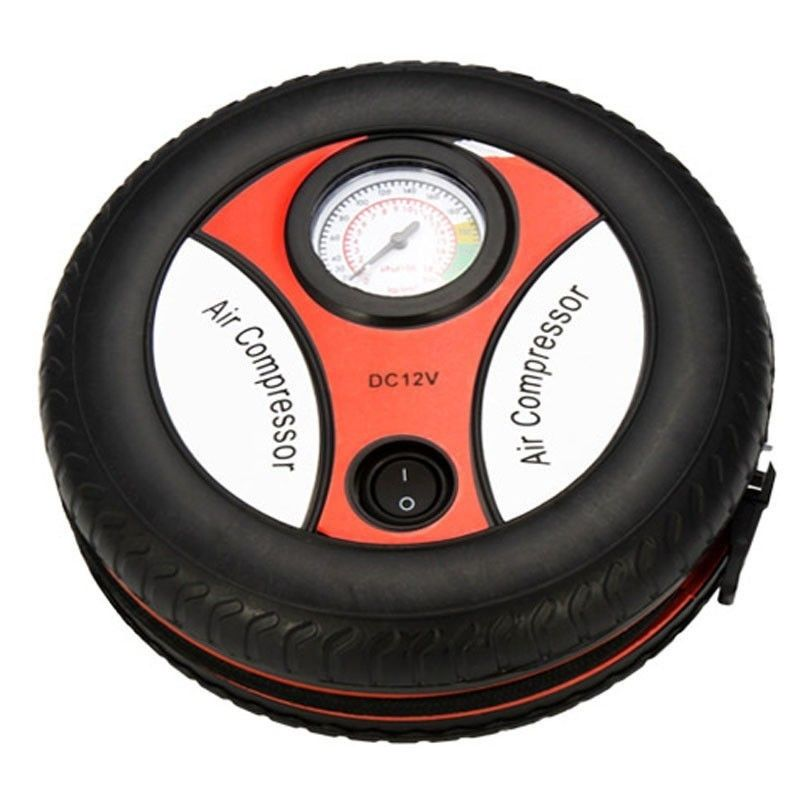 12V Portable Air Compressor Wheel 260psi Tyre Inflator Pump Car Auxiliary Tools Tire inflation pump Air Compressor