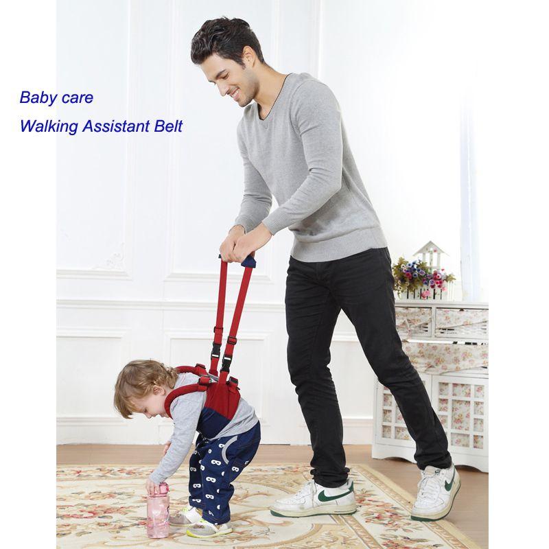 Baby Safe Infantile Marche Ceinture Kid Keeper Pied Apprentissage Walker Adjoint Enfant Sangle Réglable Harnais Pour 6-24 Mois