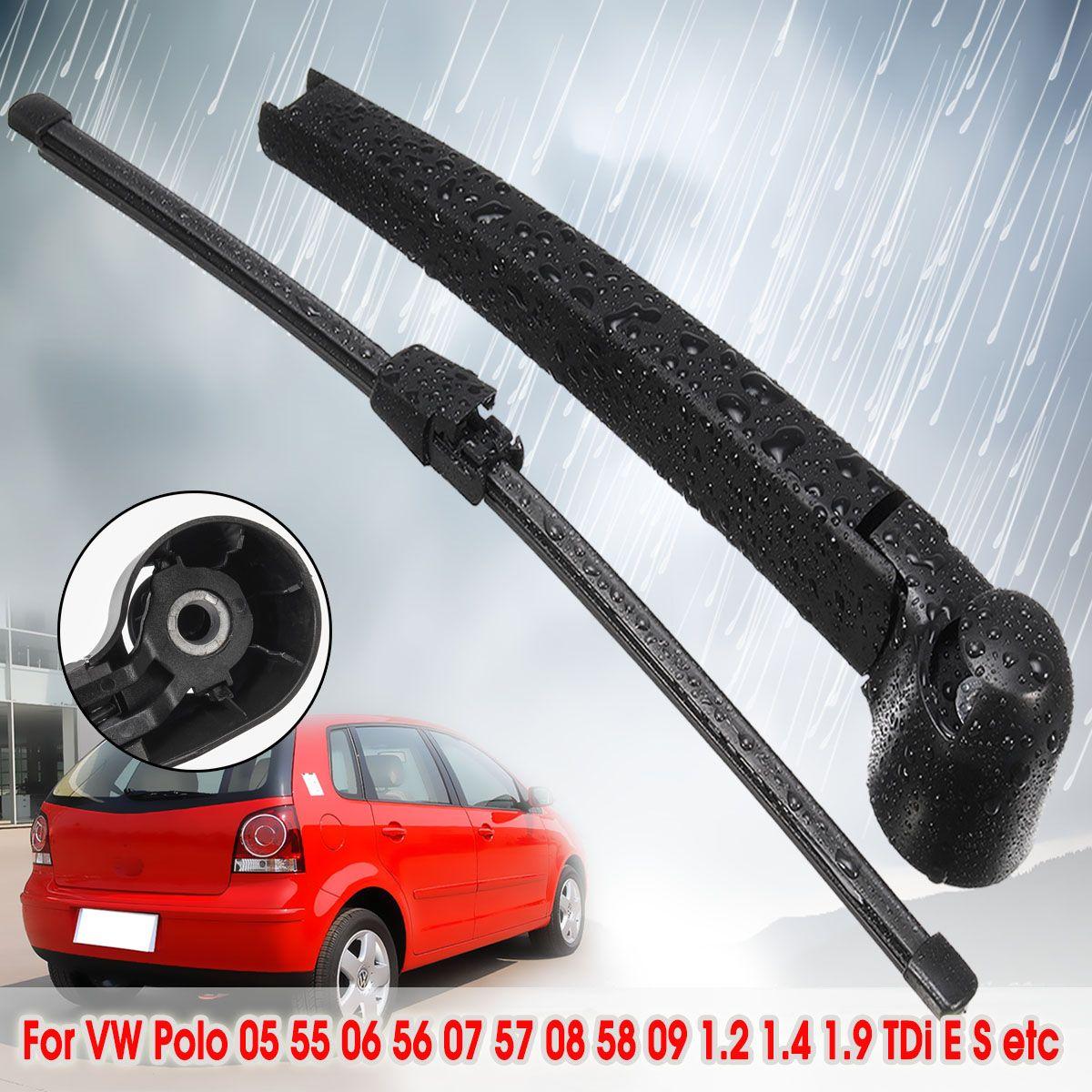 325mm Auto Hinten Scheibenwischer Wischer Arm Klinge Für VW Polo 2005 55 2006 56 2007 57 2008 58 2009 1,2 1,4 1,9 TDi E S