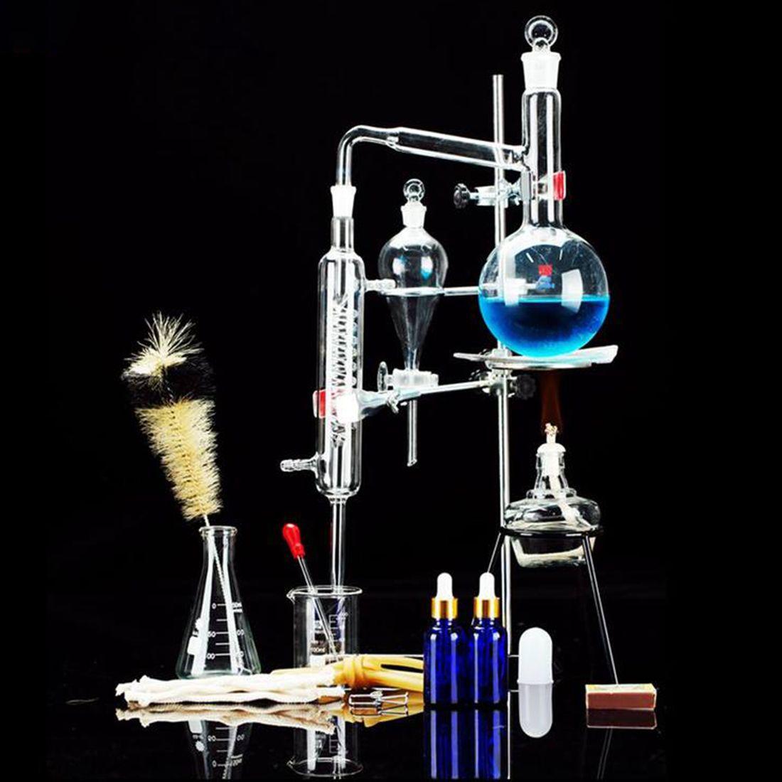 Brennerei Limbeck Glas Destilliertem Wasser Gerät Chemische Lehre Instrument für Labor kinder kinder pädagogisches wissenschaft spielzeug