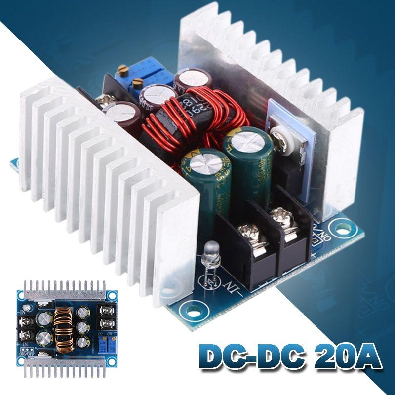 DC-DC 20A haute puissance réglable courant Constant convertisseur Buck Module Buck Module de charge à tension constante