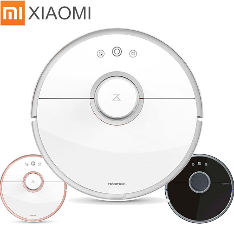 Xiaomi Robot Vacuum Cleaner Roborock S50 S51 S55 Wet Cleaning Robot Vacuum Cleaner Remote Mihome APP Wifi Original China Version