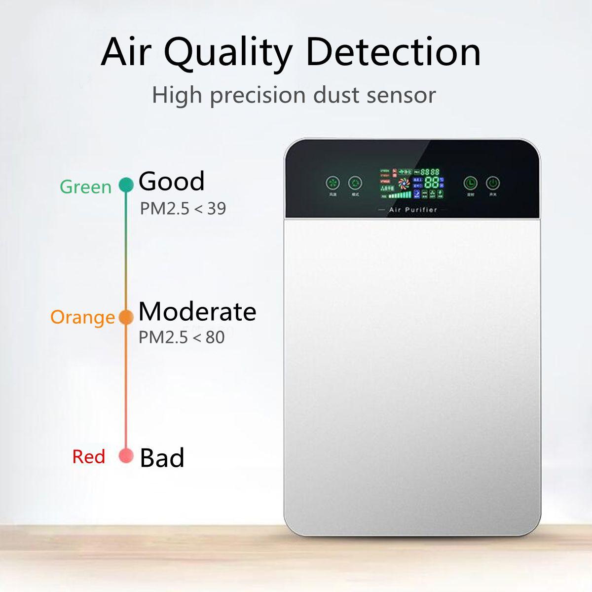 Smart Luftreiniger Elektro Intelligente Reinigen Rauch HCHO Bakterien Luft Trockner Maschine Feuchtigkeit Absorbieren Hause Haushalts Geräte