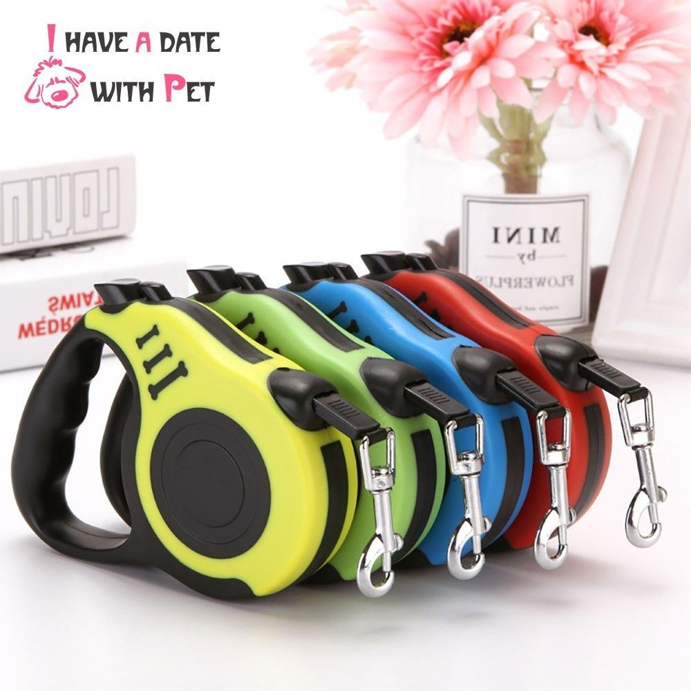 Pet product 3M/5M Dog Lead roulette Nylon Puppy Cat Leash For Small Medium Dog Flexible Retractable Free contraction Tow Rope