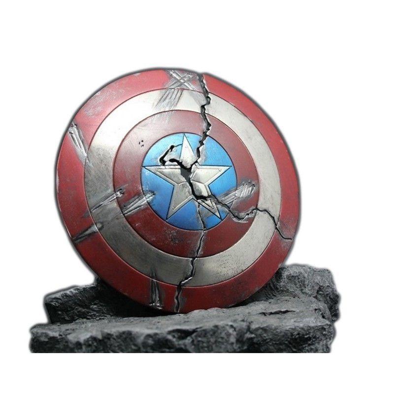 2019 Marvel Legends 1/6 legierung Captain America Schild für Unendlichkeit Krieg schäden iron Man avengers action-figuren Film Modell Figma