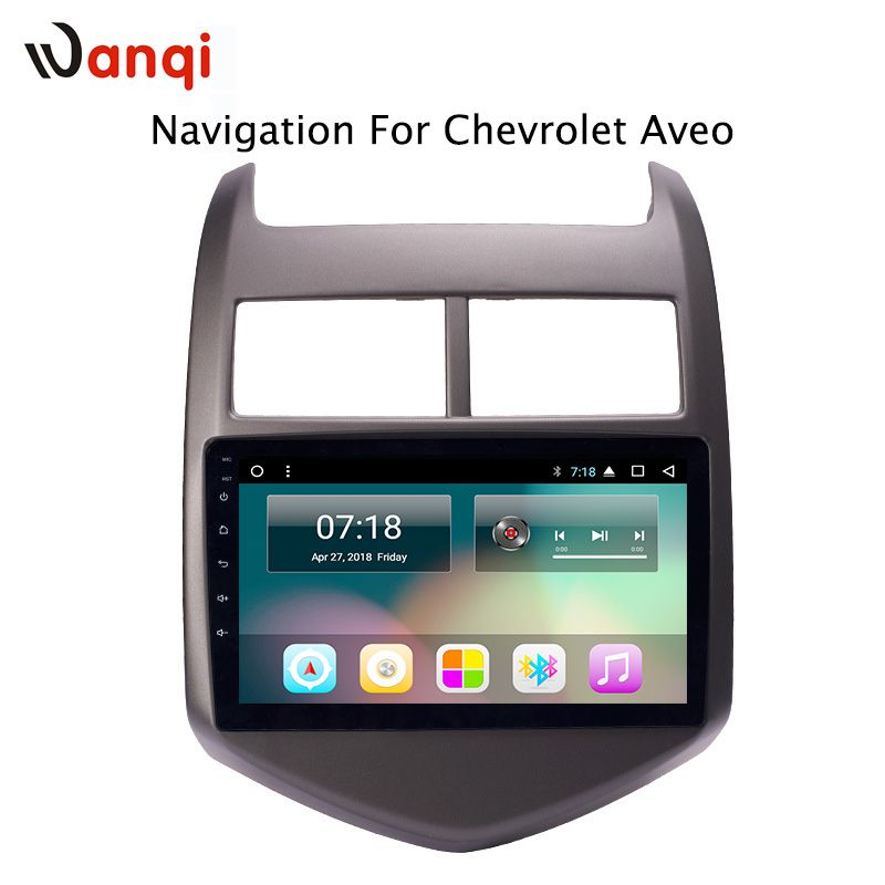 9 inch factory android 8.1 car dvd player for Chevrolet Aveo/Sonic 2011-2013 with audio radio multimedia gps navigation system