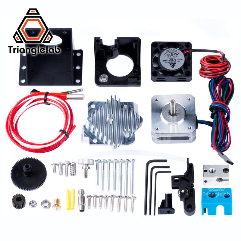 Trianglelab 3d printer Titan Aero V6 hotend extruder full kit titan extruder full kit reprap mk8 i3 Compatible TEVO ANET