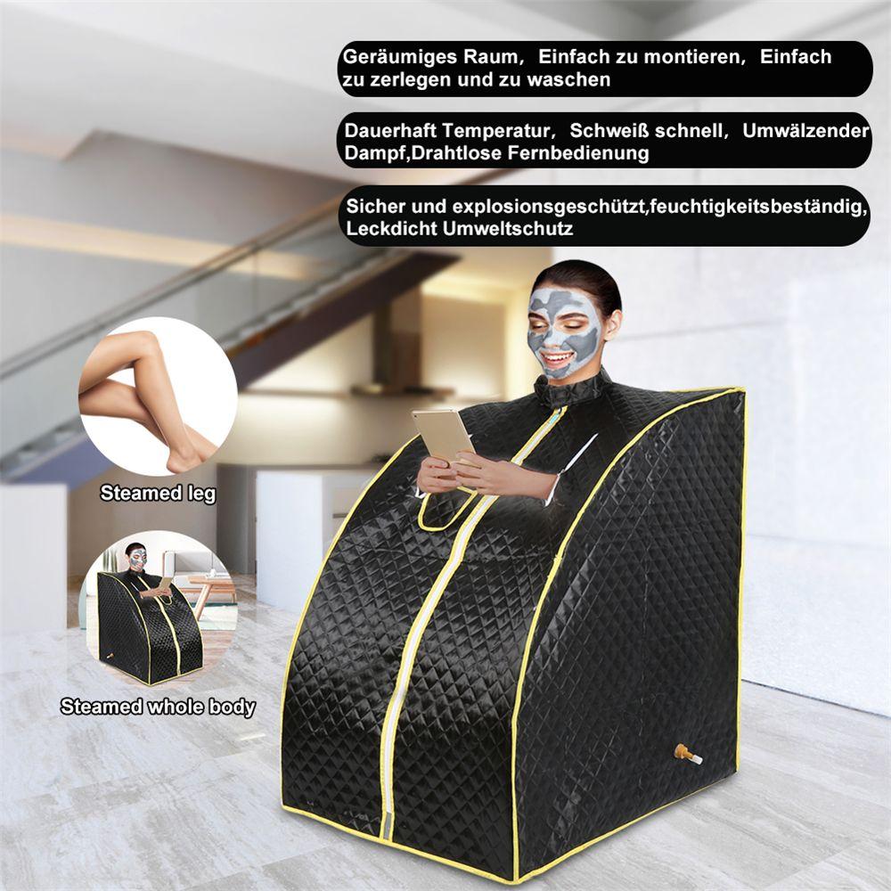 Nassdampf Sauna Zimmer Tragbare Hause Badehaus SPA Dusche Kabine Verlust Gewicht Körper Haut Halten Sauna Zelt Tasche Schiff von frankreich HWC